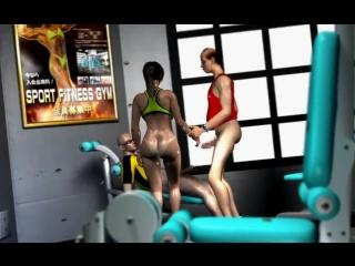Sexy Trainer Shoko Sugimoto [umemaro 3d] Vol 16 (eng Sub)_NaughtyGaming_720p