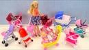 НОВАЯ КОЛЯСКА ДЛЯ ВАНИ Мультик Барби Игрушки для девочек Играем в куклы