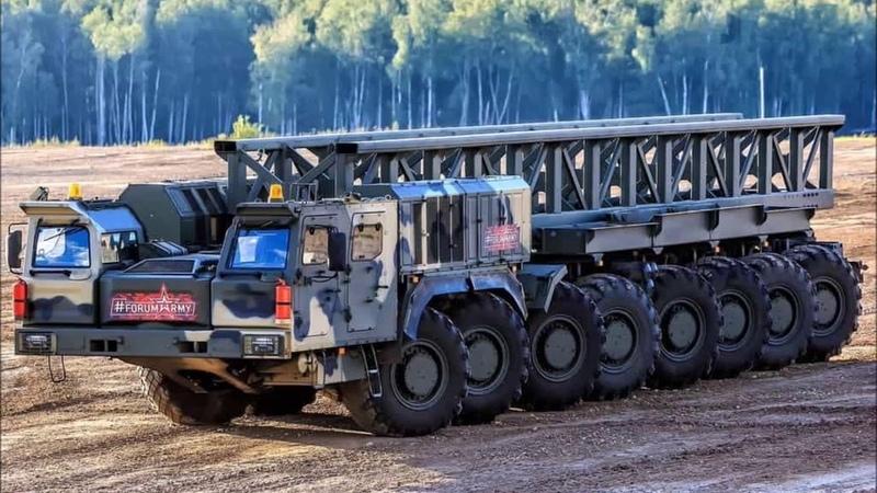 Министерство обороны России завершило государственные испытания тягача КамАЗ 7850,