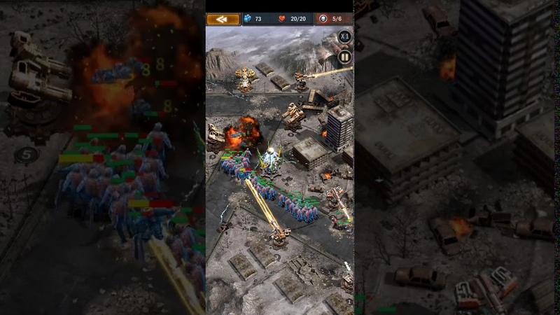 Age of Z (17 lvl hard mode tower defence, 17 уровень башен)