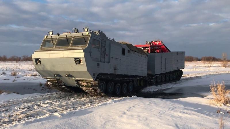 Пробеговые испытание изделия дт-30 с кму Fassi