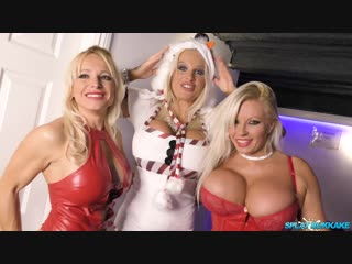 Christmas party 2018 bukkake session Sophie Anderson,Michelle Thorne,Tara Spades,Classy Filth, Facial