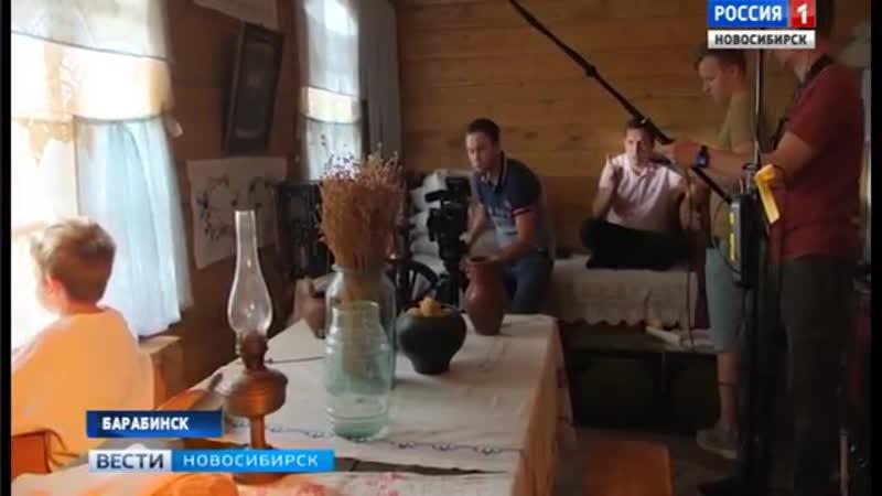 Творческая группа фильма «Снежные призраки продолжила съемки в Барабинске