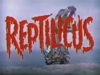 Danish monster movie reptilicus 1961  history porn