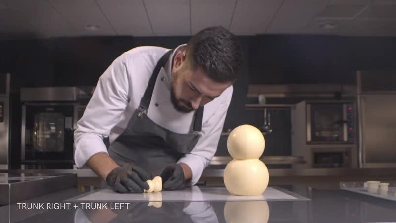 Effy - 3D Choco Figures by Raul Bernal - Silikomart Professional
