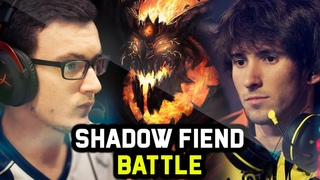 MIRACLE vs DENDI - EPIC SHADOW FIEND BATTLE - Who is the Master of SF? Dota 2 Gameplay Compilation