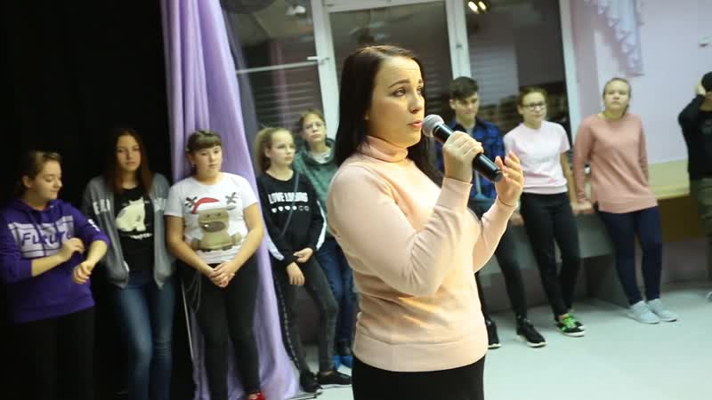Мастер класс по сценической речи от Марии Бакуты