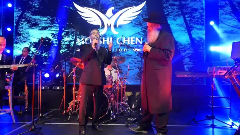 אברהם פריד עם שולי רנד בהופעה בדינר בשיר אנעים זמירות. מדהים אש דינר מרגש ומפואר ברמה הזויה!!