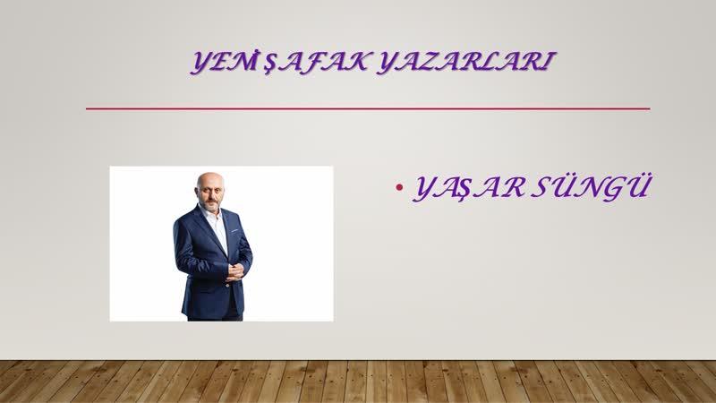 Yaşar Süngü Liseli girişimci 14.07.2019
