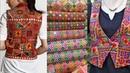 New phulkari short jacket design ideas/new short embroidered short jacket ideas for kurta