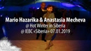 Mario Supermario Hazarika Anastasia Mecheva @ Hot Winter in Siberia 07 01 2019