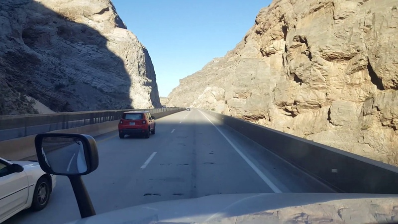 BigRigTravels Virgin River Gorge, Arizona to Arizona/Nevada border I-15 Southbound-June 5, 2019