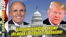 Giuliani hunde a Trump y está a punto de perder la Presidencia