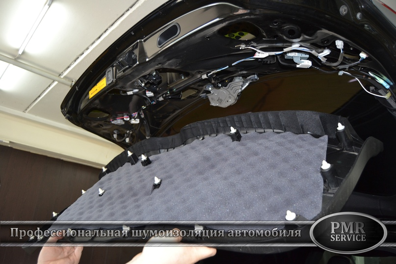 Шумоизоляция Toyota Venza, изображение №17