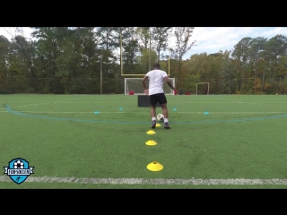 Score more goals! soccer finishing drills (agility, shooting, technique) _ fdb soccer