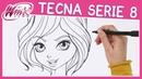 Winx Club Serie 8 Come disegnare Tecna TUTORIAL