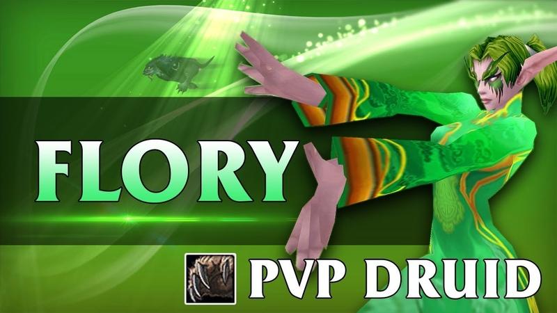 FLORY 💚 WOW VANILLA PVP Druid Twink 29 lvl