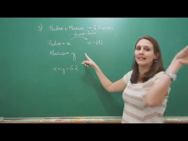 PENSI Matemática Problemas envolvendo Sistemas de Equações do 1° grau 10Youtube com 1