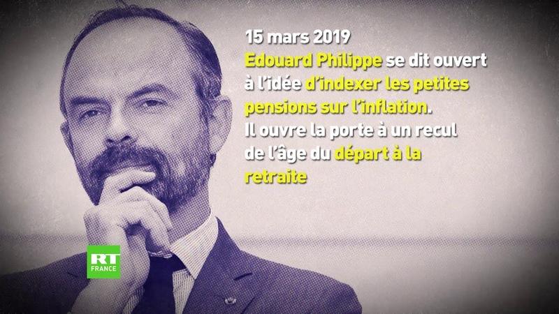 Reforme des retraites retour en images sur cette promesse de campagne dEmmanuel Macron