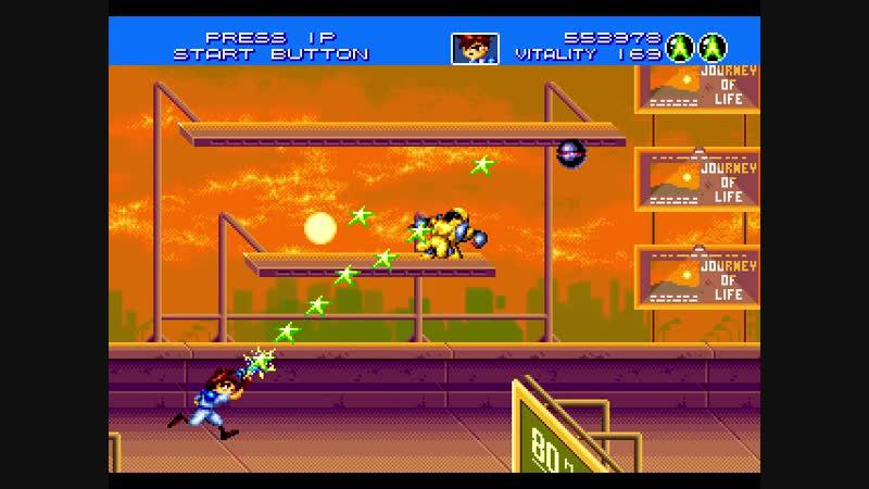 1-4 Gunstar Heroes: Yellow is saved