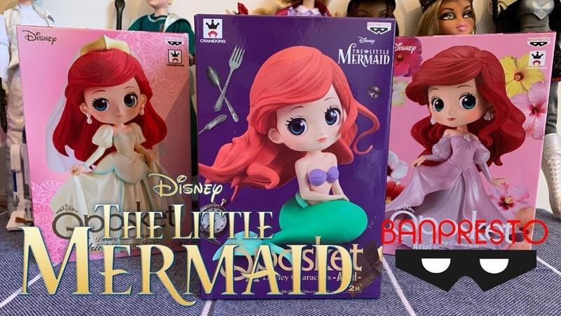 The Little Mermaid Dolls Collection Qposket Disney Collection banpresto