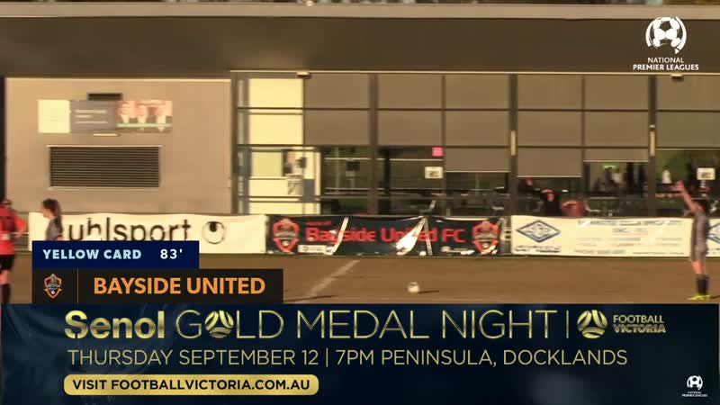 NPLW Victoria Round 25, Bayside United vs Geelong Galaxy