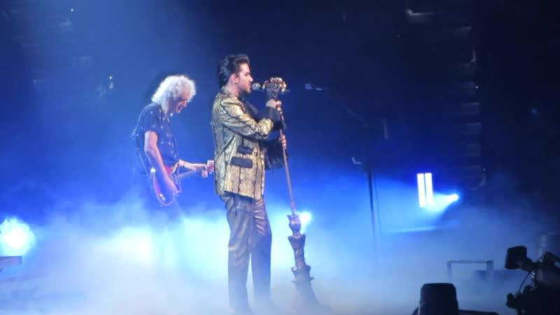 Queen Adam Lambert – Lap Of Gods/I'm In Love With My Car – Tampa, FL, 18.08.2019