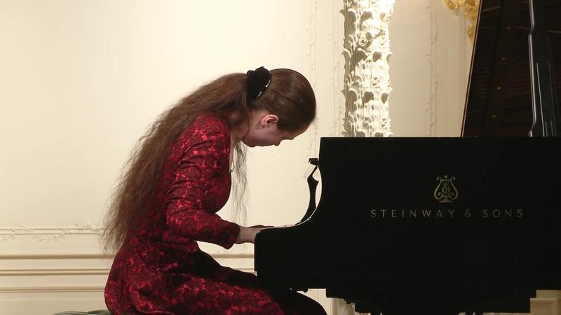 Elizaveta Ukrainskaya piano English Hall of St Petersburg Music House 2017 06 07