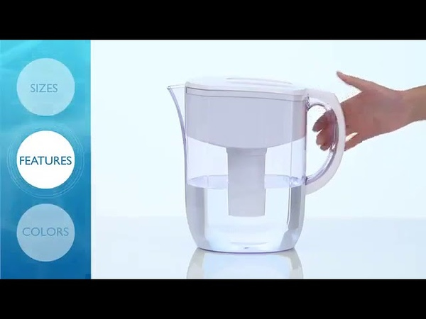 Brita Large 10 Cup Everyday Water Pitcher with Filter BPA