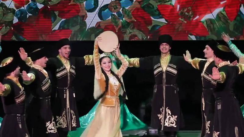 Ансамбль Адат- Азербайджанский танец (Naz eleme)