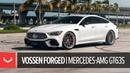 Mercedes AMG GT63s Vossen Forged M X4T 3 Piece Wheels