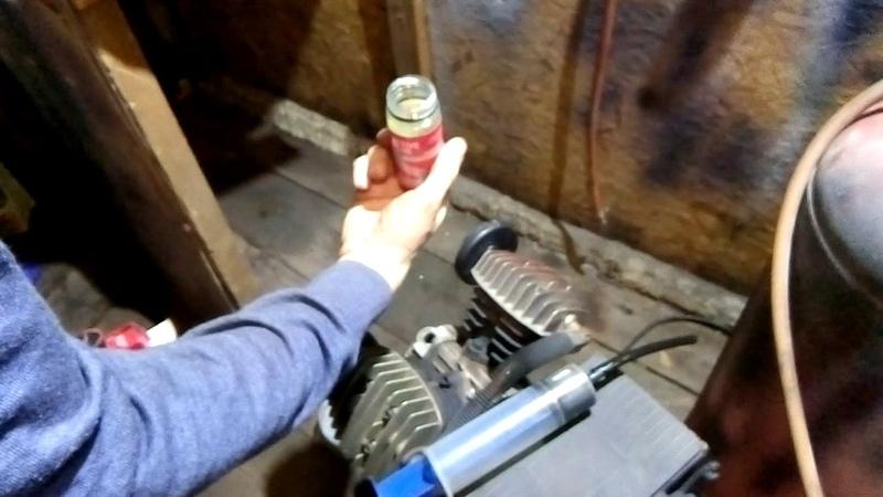 Компрессор в гараж под покраску Восстанавливаем супротеком Suprotec