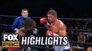Korobov Aleem ends in a controversial decision Barrios KO's Velasco HIGHLIGHTS PBC ON FOX
