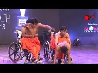 Handicapped dance performance