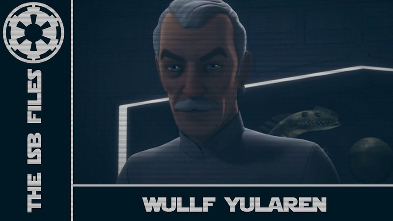 Star Wars - The ISB Files - Wullf Yularen