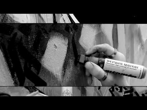 KAHM EVENT HORIZON - Calligraffiti Mural