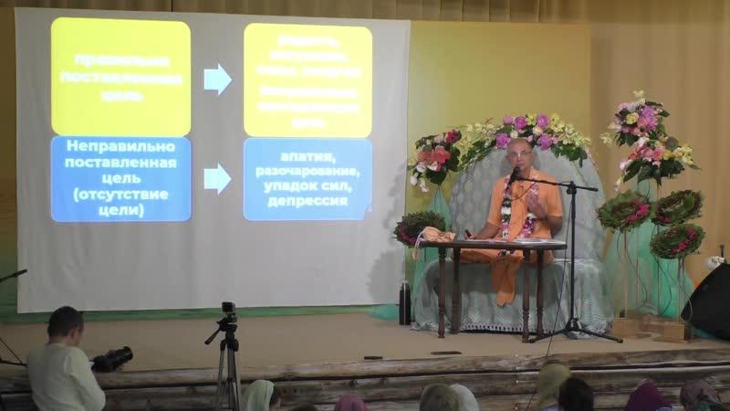 Бхакти Вигьяна Госвами - Неправильная цель ведет к стрессу