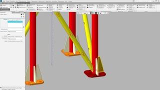 Работа в Компас 3D v18. Оборудование. Металлоконструкции. Оформление документации