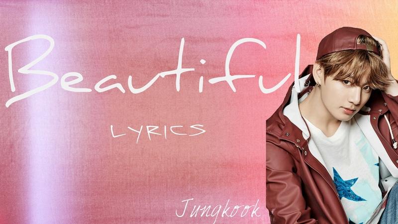BTS Jungkook 'Beautiful' Goblin OST Cover Han Eng Rom lyrics