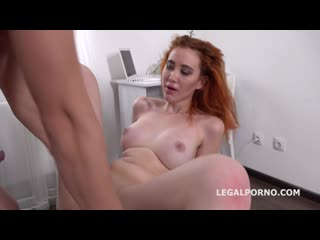 Mr. Anderson Anal Casting with Gisha Forza Balls Deep Anal, Gapes, Rough Sex, Cum in mouth