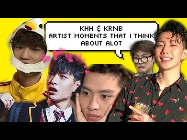 KHH KRNB Artist Moments I Think About Alot