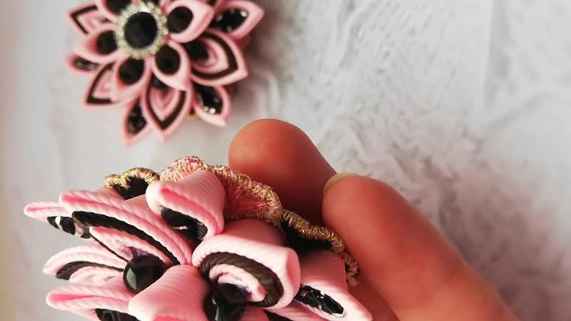 Многослойка розовый и черный
