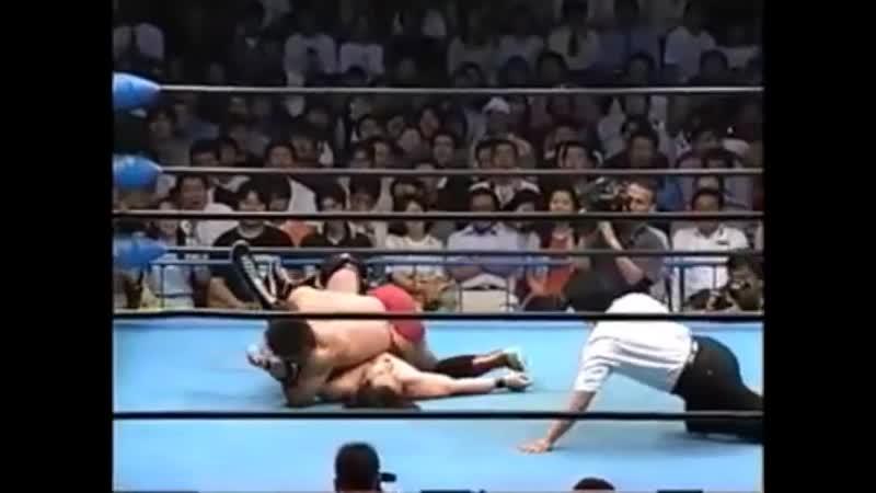 1999.06.09 - Yoshinari Ogawa [c] vs. Kentaro Shiga [JIP]