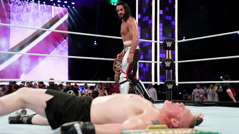 Brock Lesnar vs Seth Rollins_Sammer Slam 2019