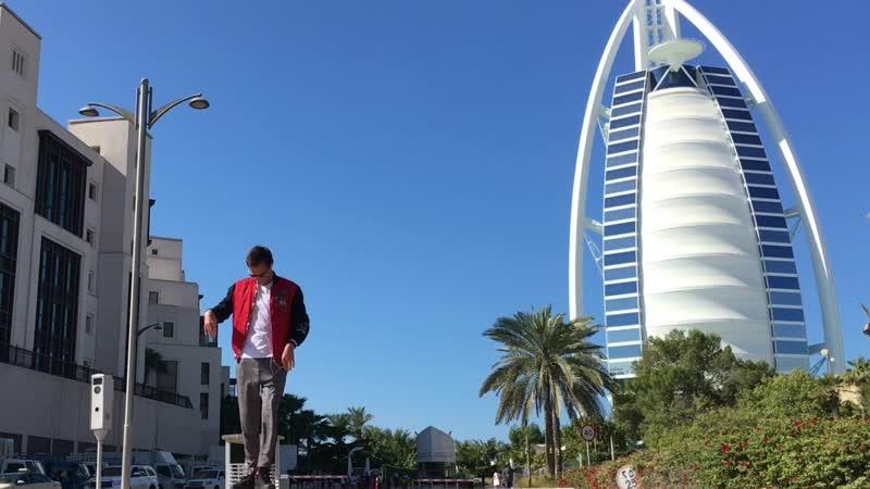 Burj Al Arab Popping David Guetta Love is Gone