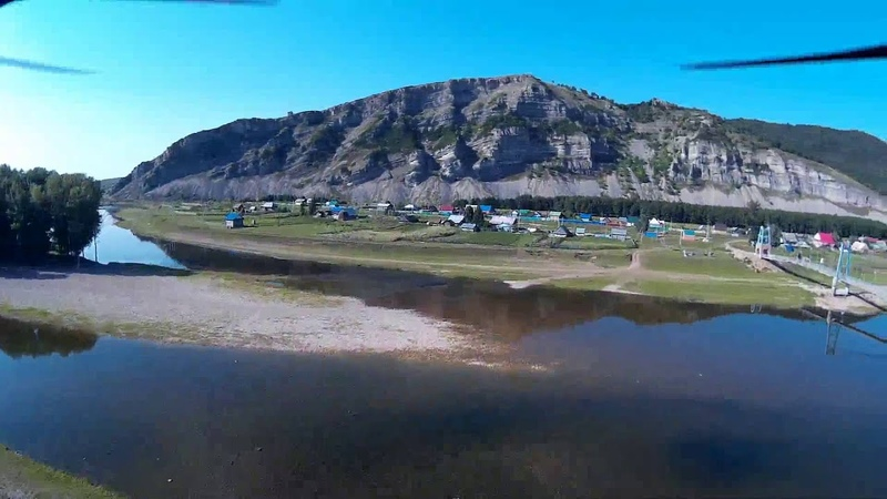 Гафурийский район деревня Таш Асты Полет на квадракоптере