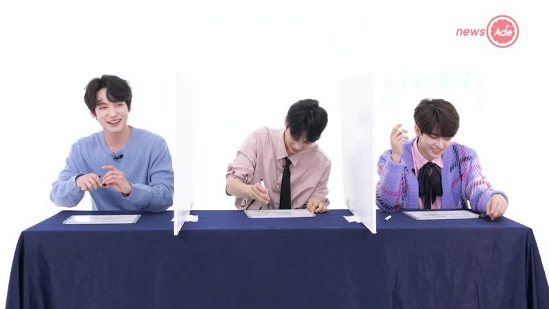 191109 VICTON 빅톤 @ News Ade's Telepathy Test