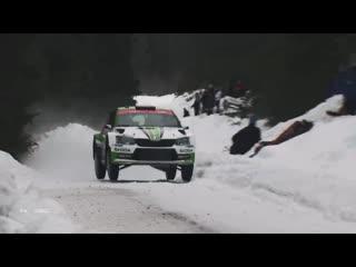 Škoda motorsport 2019 rallye sweden