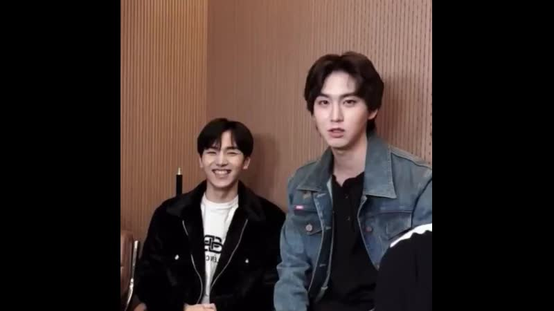 Shinwon is the new leader🙈