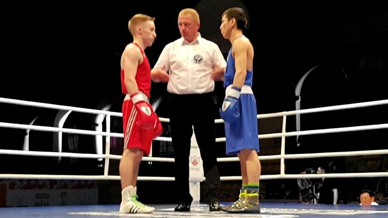 Beloded Vladisla RUS vs Mahmetov Azat KAZ , 52 kg